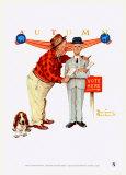Dernier discours Posters par Norman Rockwell