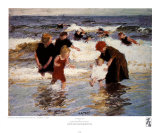 Bathers Art by Edward Henry Potthast