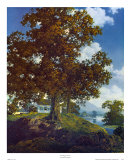 Peaceful Valley Plakater af Maxfield Parrish