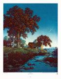 New Moon Kunstdrucke von Maxfield Parrish