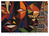 Maskermorphosis I Prints by Olu Jimi Adeniyi