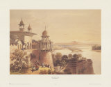 Palace and Fort at Agra Posters by David Roberts