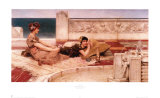 Love Votaries, 1891 Prints by Sir Lawrence Alma-Tadema