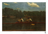 Biglin Brothers Racing Prints by Thomas Cowperthwait Eakins
