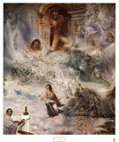 Ecumenical Council Poster by Salvador Dal&#237;