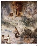 El concilio ecuménico Láminas por Salvador Dalí