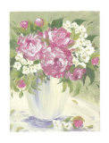 Peony I Print by Patricia Roberts