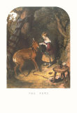 The Pets Prints by Edwin Henry Landseer