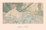 Dawn Print by Alphonse Mucha