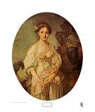 La cruche cassée Poster par Jean-Baptiste Greuze