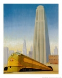 Big City Posters by Robert LaDuke