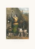 Gamekeeper's Daughter Print by Frankin Taylor