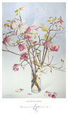 Magnolias and Moon I Print by Richard Bolingbroke