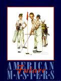 Amerikanische Meister Poster von Norman Rockwell