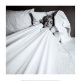 Marilyn dans son lit Art par Milton H. Greene