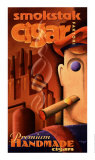 Smokstak Cigar Faktori Posters par Michael L. Kungl