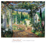 Samarkand, Santa Barbara Prints by Colin Campbell Cooper
