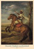Moorish Chieftain on Horseback Plakater af Tim Ashkar