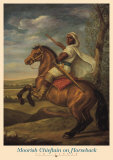Moorish Chieftain on Horseback Prints by Tim Ashkar