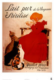 Lait pur Sterilise Posters by Th&#233;ophile Alexandre Steinlen