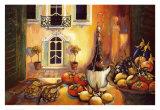 Cuisine toscane Posters par Karel Burrows