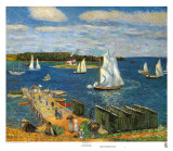 Baie de Mahone (1911) Art par William Glackens