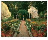 Jardin de Aranjuez Poster by Santiago Rusinol