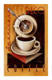 Americana Deco Coffee Posters by Michael L. Kungl