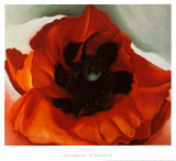 Poppy Poster by Georgia O&#39;Keeffe