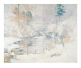 Winter Harmony Prints by John Henry Twachtman