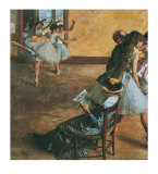 Ballet Class Posters by Edgar Degas