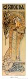 Gismonda Print by Alphonse Mucha