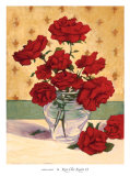 Rue Cler Roses II Poster by Linda Hanly