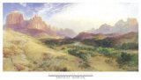 Entering the Canyon Posters by Thomas Moran