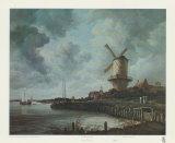 Windmühle bei Wijk Poster von Jacob Van Ruysdael