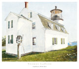 Lighthouse with Bell Art by Thomas LaDuke