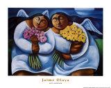 Dos Angeles Plakaty autor Jaime Olaya