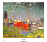 Argenteuil Prints by Claude Monet
