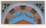 Loggia in the Vatican III (detail) Art par  Raphael