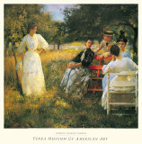 In the Orchard, 1891 Poster by Edmund Charles Tarbell