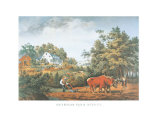 American Farm Scenes Prints by  Currier & Ives