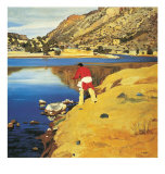 Along the Rio Grande Prints by Walter Ufer