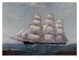 McKay Racer, Sovereign of the Seas Print by Frank Vining Smith