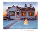 Christmas Glow Posters by Gretchen Huber Warren