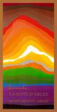 Volcán Lámina por Arthur Secunda