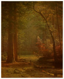 Dogwood Prints by Albert Bierstadt