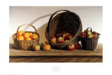 Pommes et oranges Affiches par Pauline Eblé Campanelli