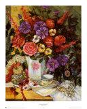 Bouquet victorien II Posters par Francie Botke