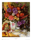 Victorian Bouquet II Posters by Francie Botke