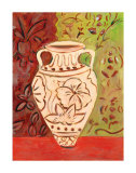 Lotus Pot II Print by Joyce Lieberman
